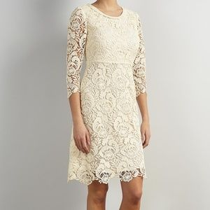 Alice temperley Stunning Luxury Lace Detail Dress